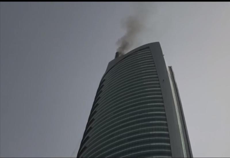 "В Дубае загорелся небоскреб <span class=""color_red"">- ФОТО</span>"