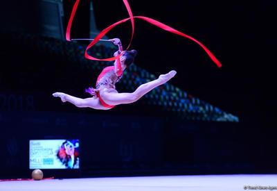 Азербайджанские гимнастки вышли в финалы AGF Junior Trophy