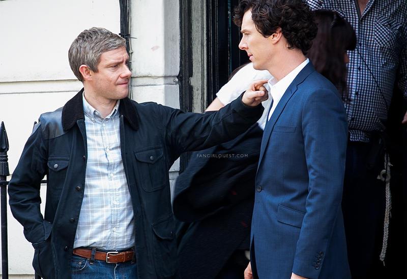 """Звёзды """"Шерлока"""" повздорили из-за фанатов сериала"""