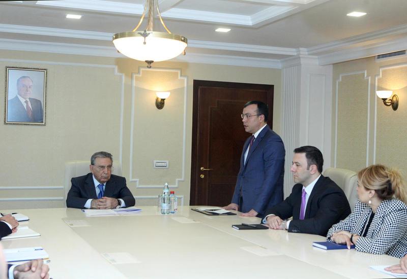 """Сахиль Бабаев: В сфере труда и соцзащиты населения в Азербайджане будет обеспечена прозрачность <span class=""""color_red"""">- ФОТО</span>"""