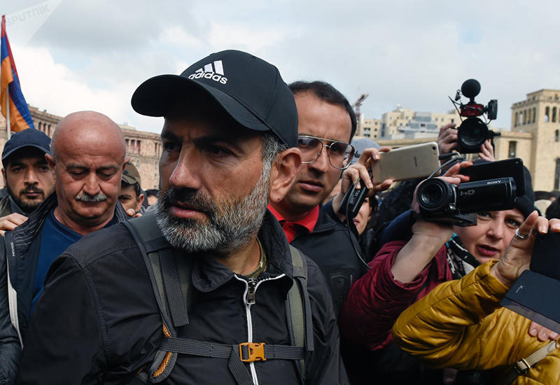 Пашинян: Оппозиция Армении не прервет акции протеста