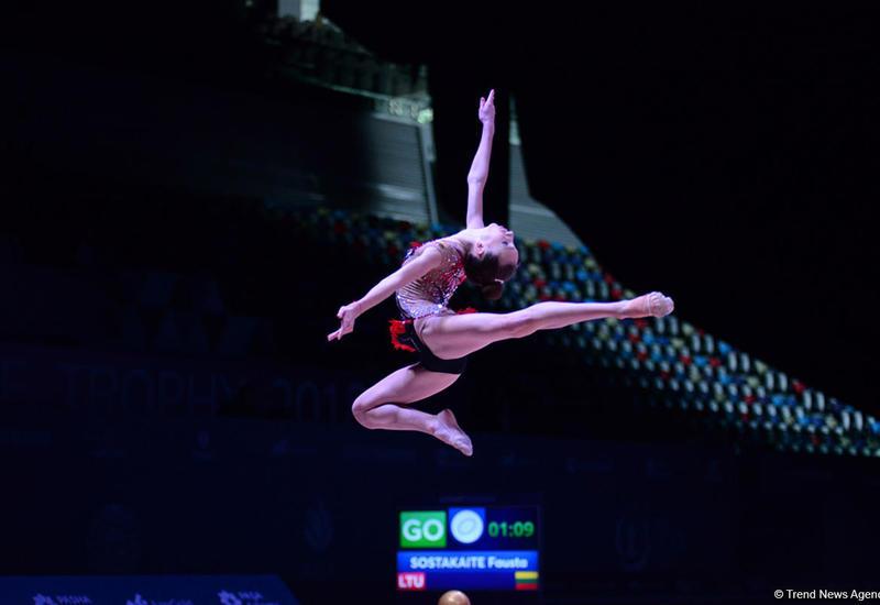 """В Баку стартовал международный юношеский турнир по художественной гимнастике <span class=""""color_red"""">- ФОТО</span>"""