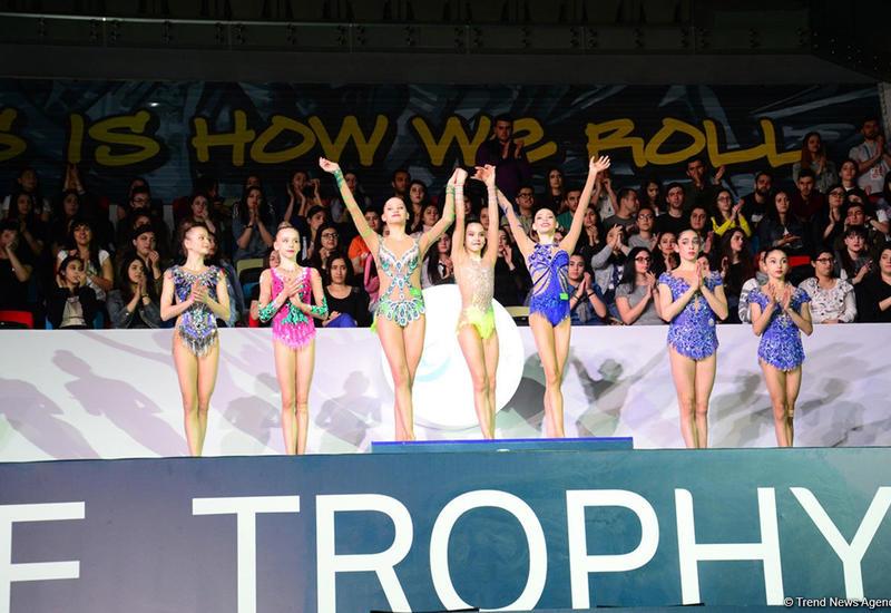 """Азербайджанские гимнастки выиграли бронзу AGF Junior Trophy в командном зачете <span class=""""color_red"""">- ФОТО</span>"""