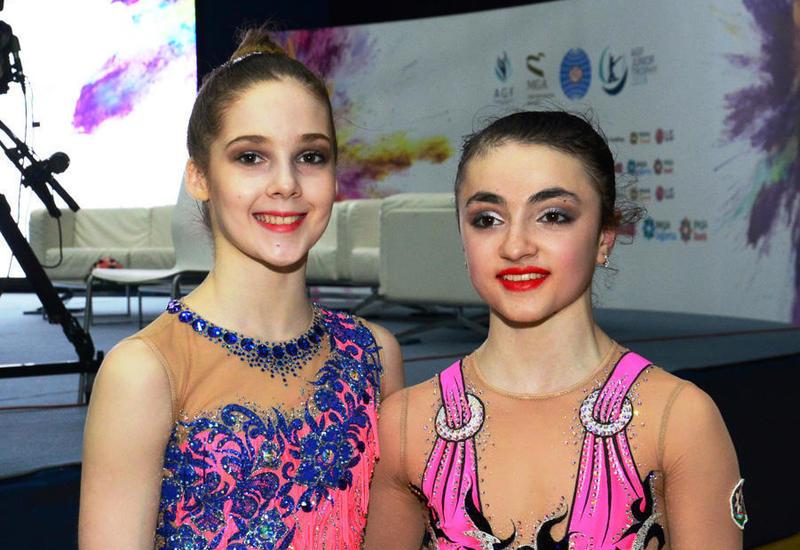 Азербайджанские гимнастки: Выступать в родных стенах всегда приятнее