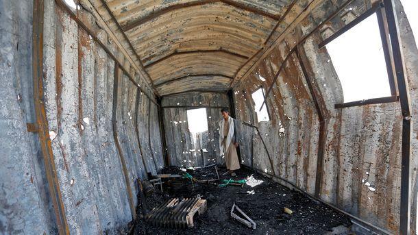 ВЙемене при авиаударе коалиции погибли 20 человек