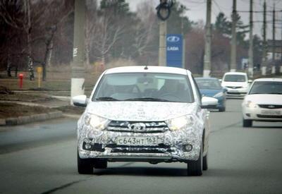 "Обновленная Lada Granta снова попалась фотошпионам <span class=""color_red"">- ФОТО</span>"
