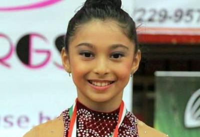Азербайджанская гимнастка завоевала золото AGF Junior Trophy в упражнениях с лентой