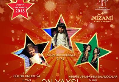 """Названы первые номинанты проекта Azerbaijan Golden Kids Awards 2018 <span class=""""color_red"""">- ФОТО</span>"""