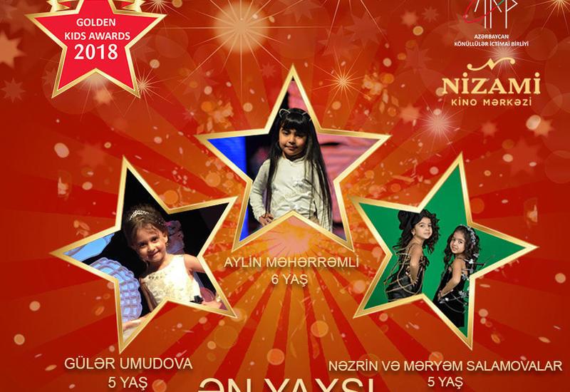 """Названы первые номинанты конкурса Azerbaijan Golden Kids Awards 2018 <span class=""""color_red"""">- ФОТО</span>"""