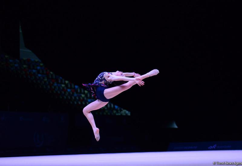 Российская гимнастка завоевала золото AGF Junior Trophy в упражнениях с булавами