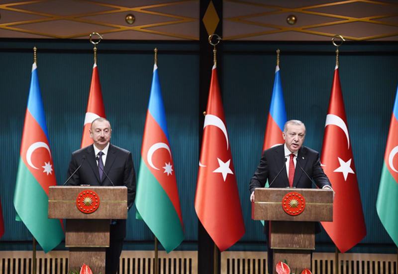 Эрдоган: Азербайджан и Турция будут развивать отношения во всех сферах