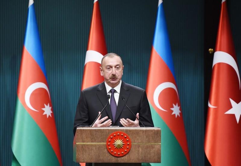 Президент Ильхам Алиев: Совместные проекты Азербайджана и Турции укрепляют региональное сотрудничество и обеспечивают стабильность в регионе