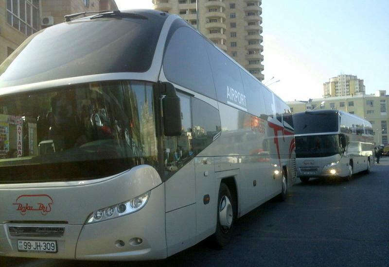 В Баку временно изменен маршрут этих автобусов