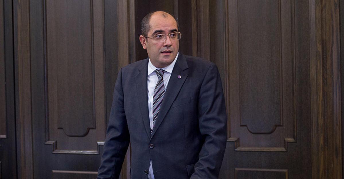 ВАрмении министр спорта подал вотставку иприсоединился кпротестам