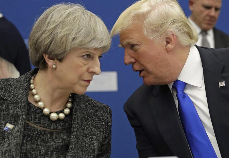 Трамп прибудет с визитом в Великобританию 13 июля и встретится с Мэй