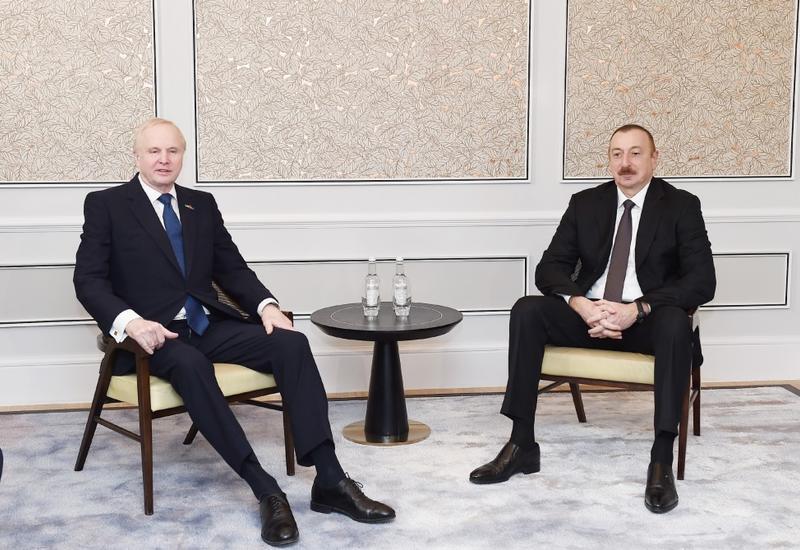 """Президент Ильхам Алиев встретился в Лондоне с генеральным исполнительным директором компании ВР <span class=""""color_red"""">- ФОТО</span>"""