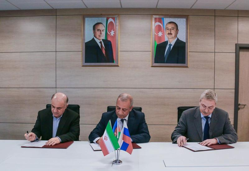 "Азербайджан, РФ и Иран создадут рабочую группу по объединению энергосистем <span class=""color_red"">- ФОТО</span>"