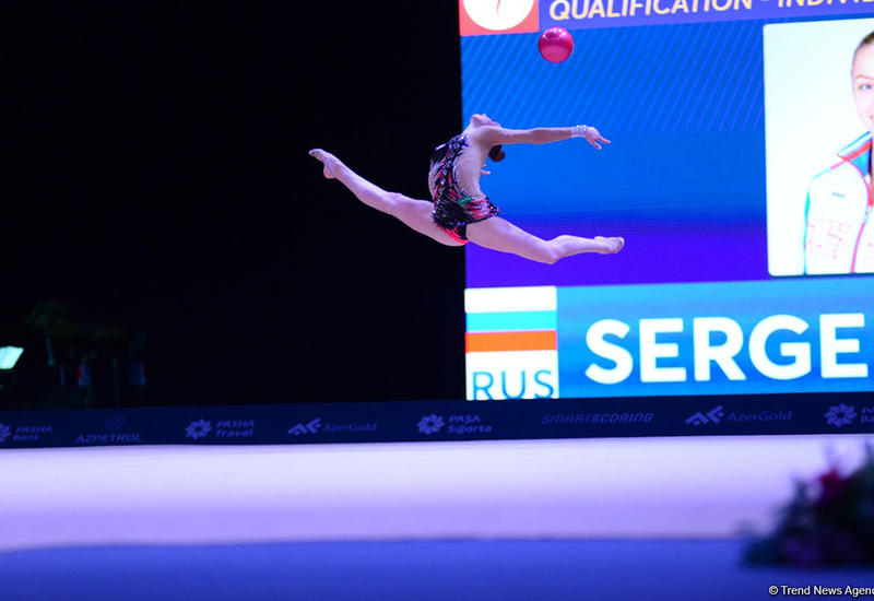 Лучшие моменты c Кубка мира по художественной гимнастике в Баку