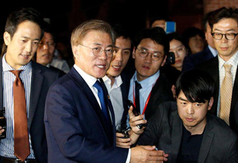 Президент Южной Кореи отправился на встречу с Ким Чен Ыном