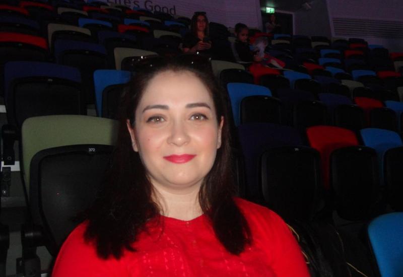 Зрительница: Желаю азербайджанским гимнасткам достигнуть больших высот