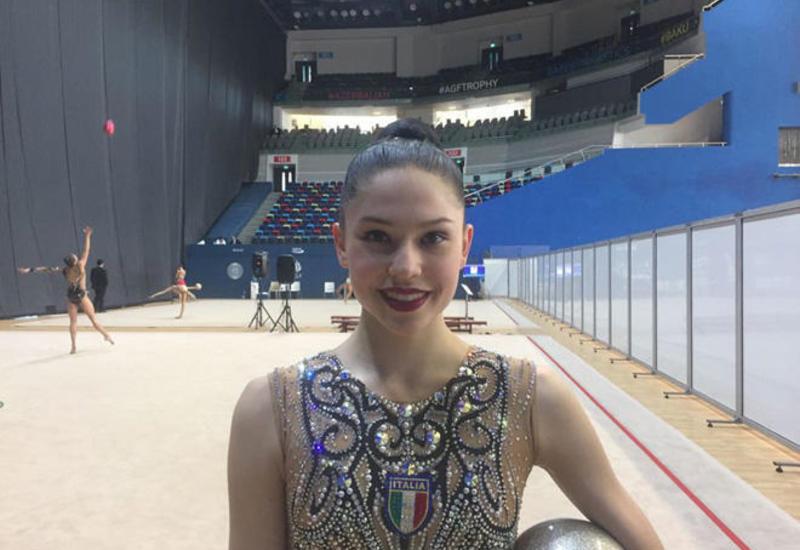 Итальянская гимнастка: Уровень организации Кубка мира в Баку очень высок
