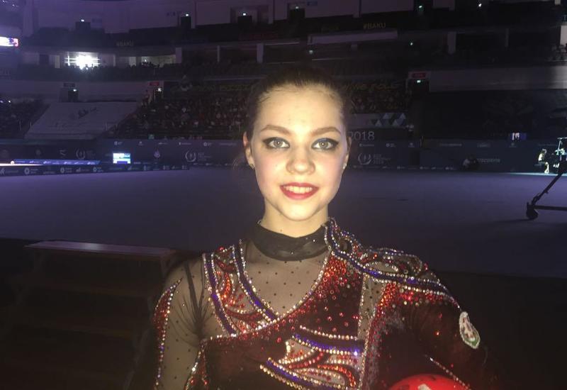 Азербайджанская гимнастка: Эмоции меня просто переполняют