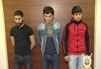 """В Баку совершено нападение на магазин, есть задержанные <span class=""""color_red"""">- ФОТО</span>"""