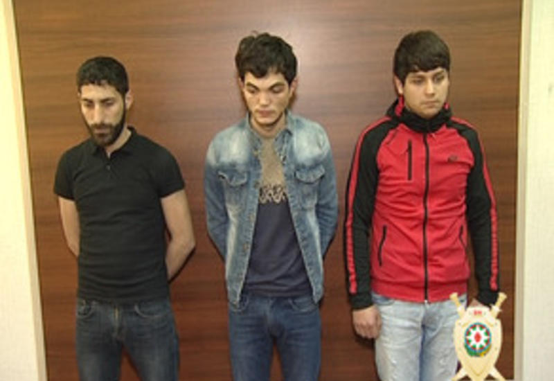 В Баку совершено нападение на магазин, есть задержанные