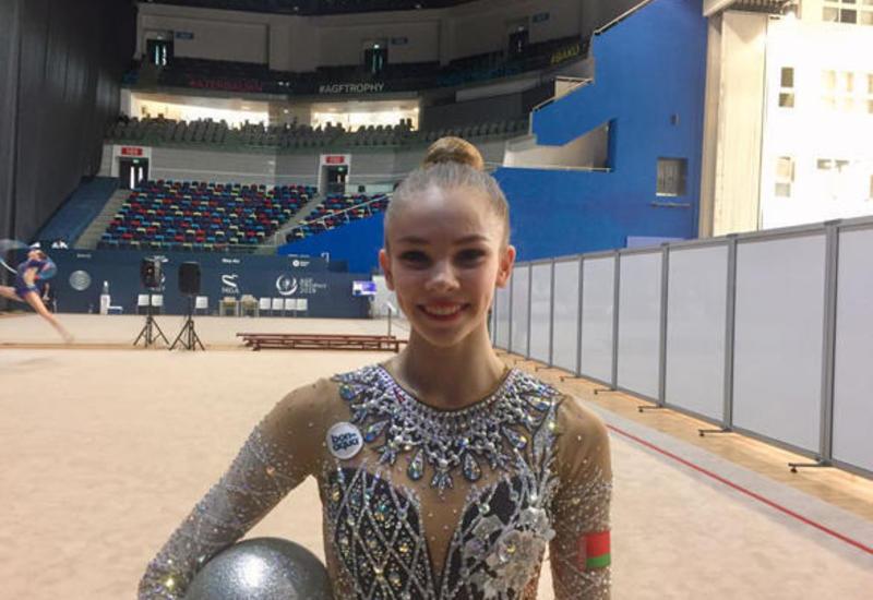 Белорусская гимнастка: У азербайджанских гимнасток отличные условия для тренировок