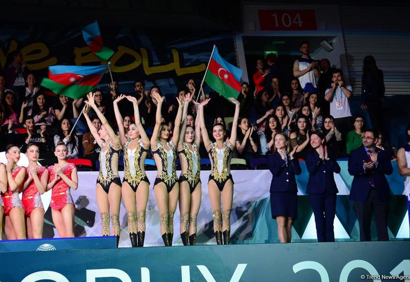 В Баку прошла церемония награждения групповых команд в рамках Кубка мира