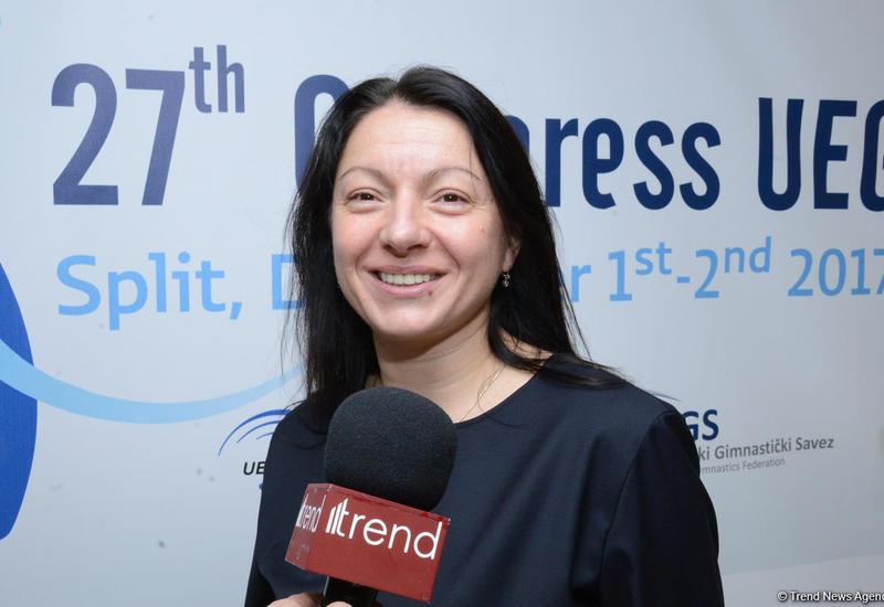 Мариана Василева: Счастлива, что сборная Азербайджана наконец-то взяла медаль на домашней арене