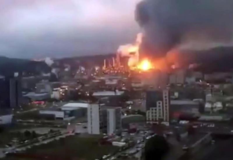 Крупный пожар на фабрике на Тайване, есть жертвы