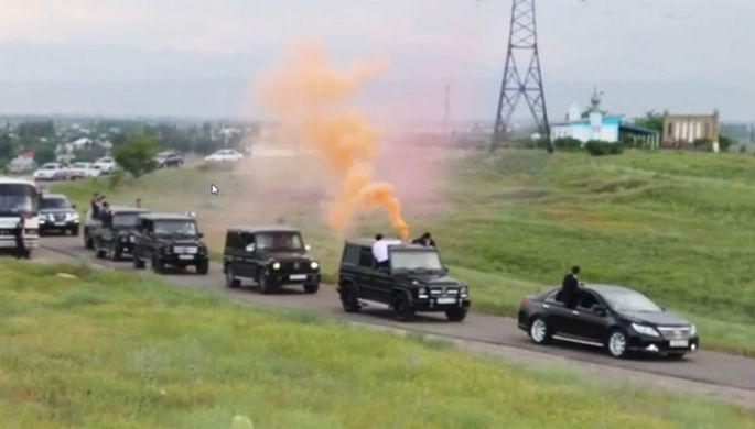В столицеРФ задержали участников «стреляющей» свадьбы