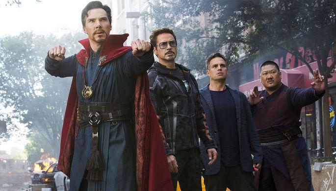 Фильм «Мстители: вражда бесконечности» установил рекорд настарте проката вСША