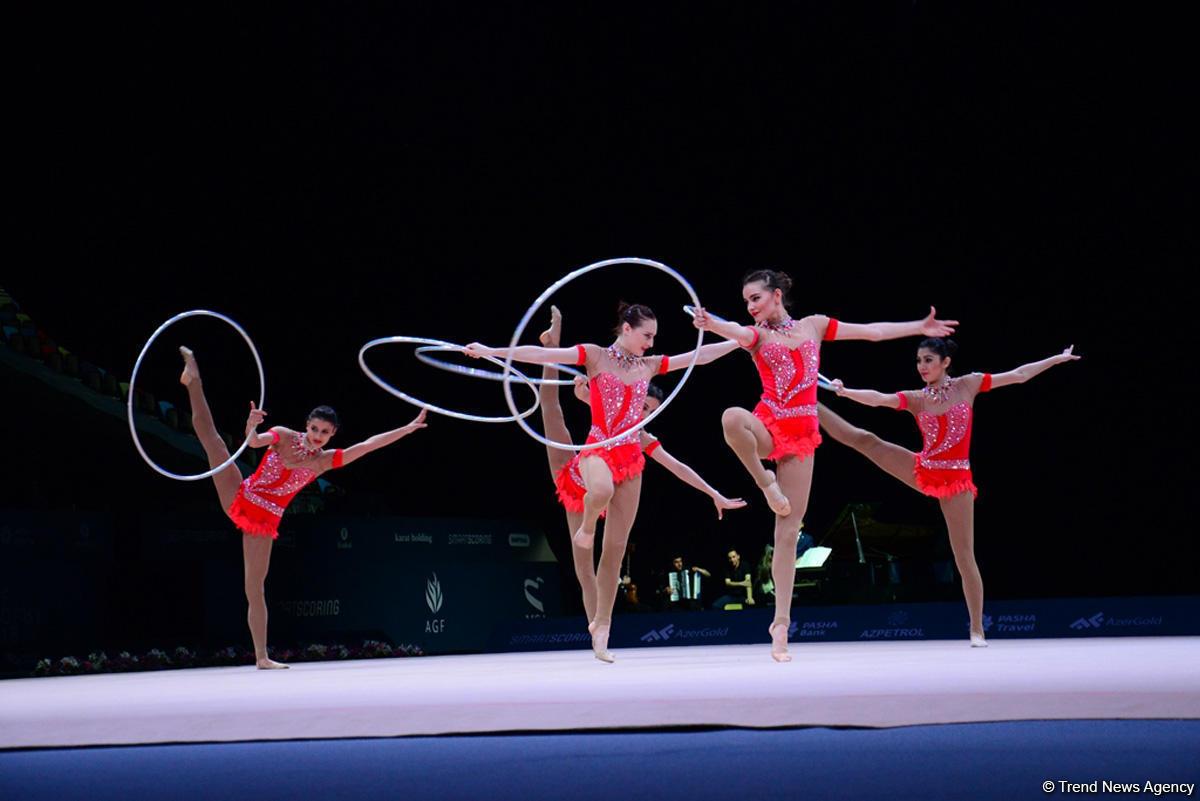 Художественная гимнастика: Украинка Влада Никольченко выиграла «серебро» наэтапе Кубка мира