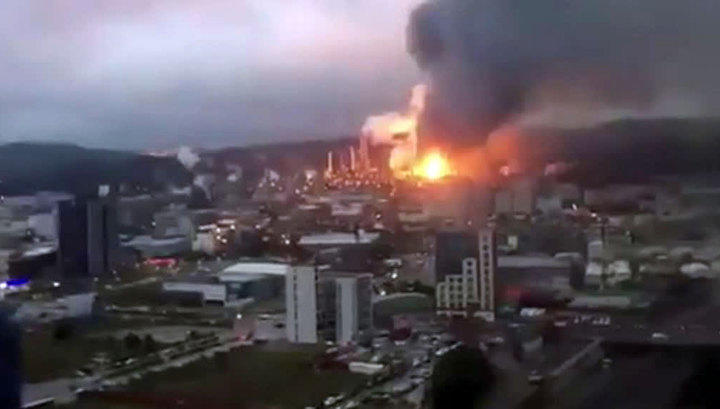 ВТайване из-за пожара нафабрике погибли люди