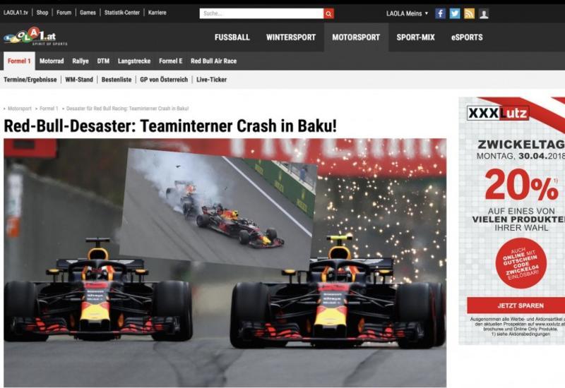 Гран-при Азербайджана Формулы-1 в центре внимания немецкоязычных СМИ