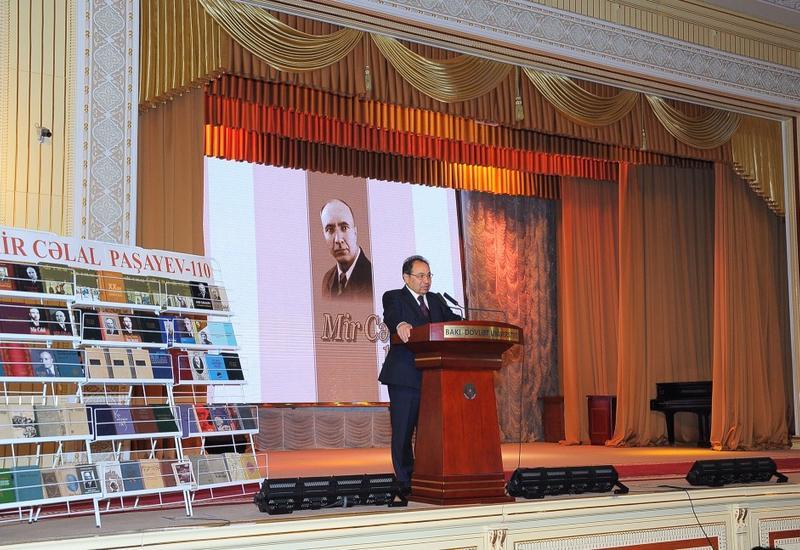 В БГУ прошла научно-практическая конференция, посвященная 110-летию Мир Джалала Пашаева