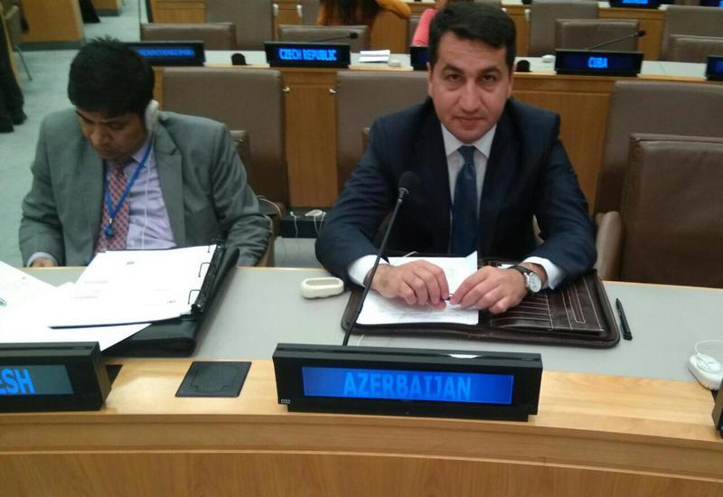 В Генассамблее ООН осудили кампании по дезинформации против Азербайджана