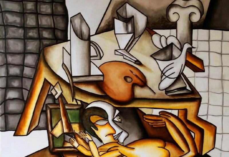 """""""Картинная галерея"""" Day.Az: Картины в стиле неокубизм"""