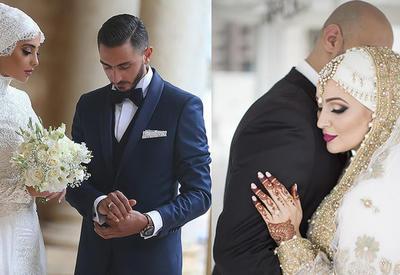 """Исламская красота: 20 фотографий самых красивых мусульманских невест в хиджабах, от которых не оторвешь глаз <span class=""""color_red"""">- ФОТО</span>"""