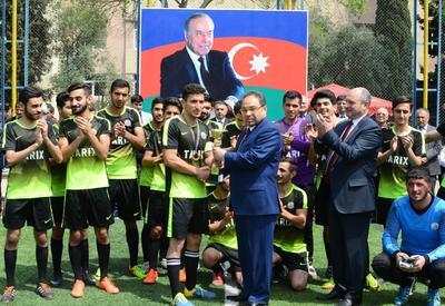 Завершился футбольный турнир БГУ в честь 95-летия Общенационального лидера Гейдара Алиева