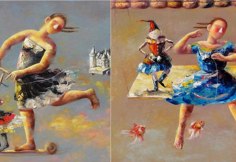 """""""Картинная галерея"""" Day.Az: Таинственный воображаемый мир"""