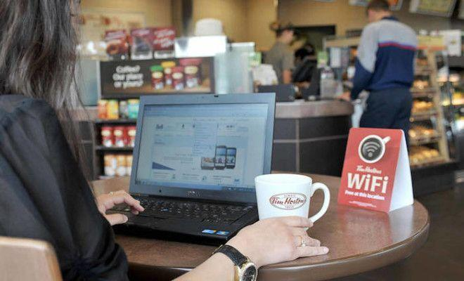 Не делайте покупки используя WIFI в общественных местах