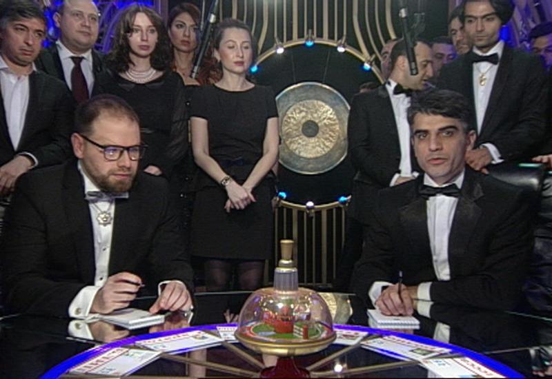 """""""Что? Где? Когда?"""": Команда Анара Наджафли против телезрителей - ВИДЕО"""