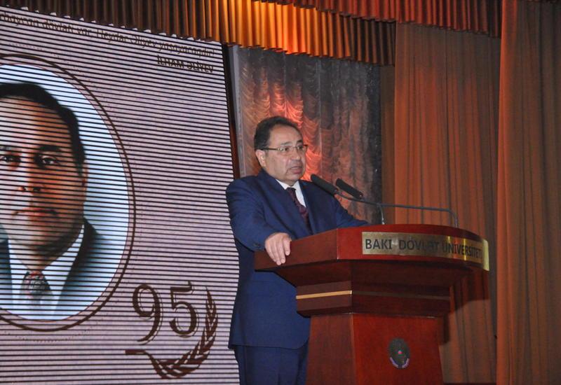 В БГУ прошло мероприятие, посвященное 95-летию Общенационального лидера Гейдара Алиева