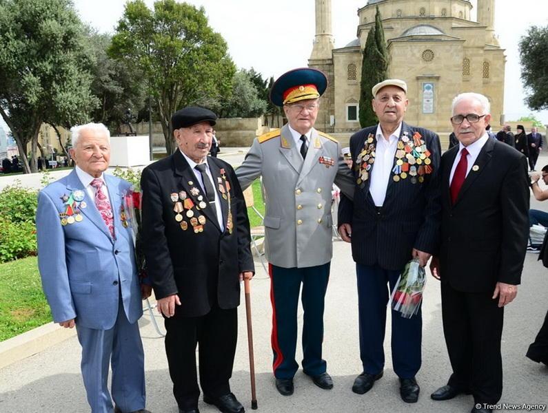 ВИстре увековечили вклад Азербайджана вдело Великой Победы