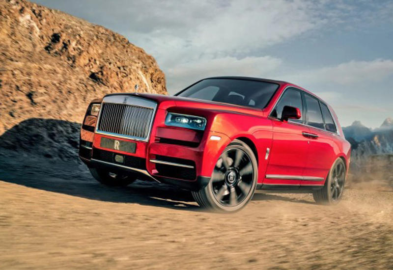 Rolls-Royce показал свой первый в истории внедорожник