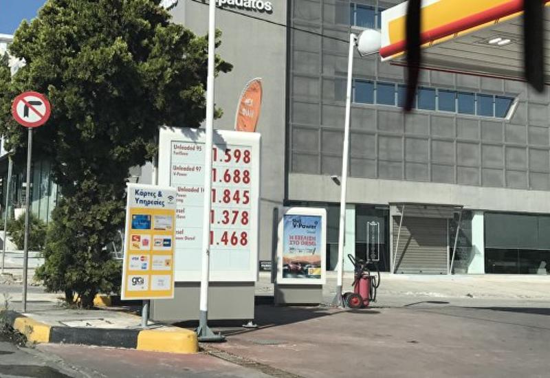 В Греции подорожал бензин