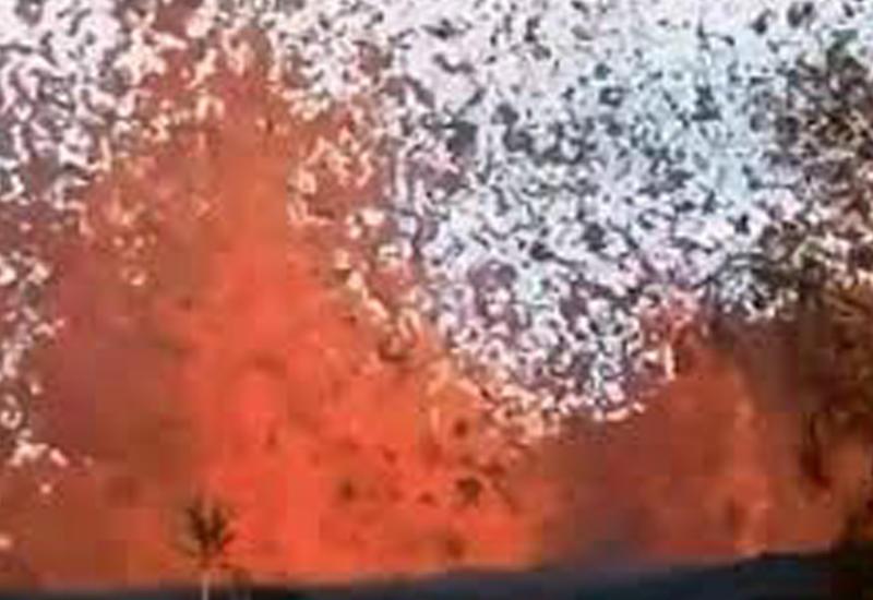 Гавайский вулкан начал извергаться посреди жилого дома